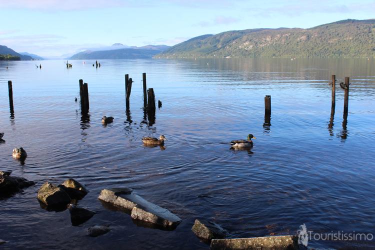 Le Lac de Lochness en Ecosse
