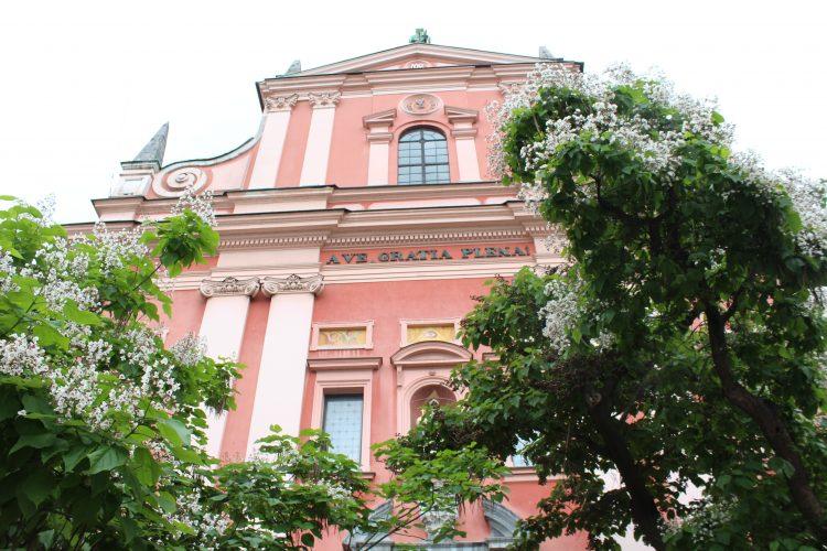 Centre ville de Ljubljana