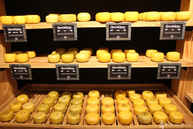 Boutique de fromage à Amsterdam