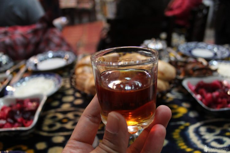 Cognac de Samarcande Ouzbékistan