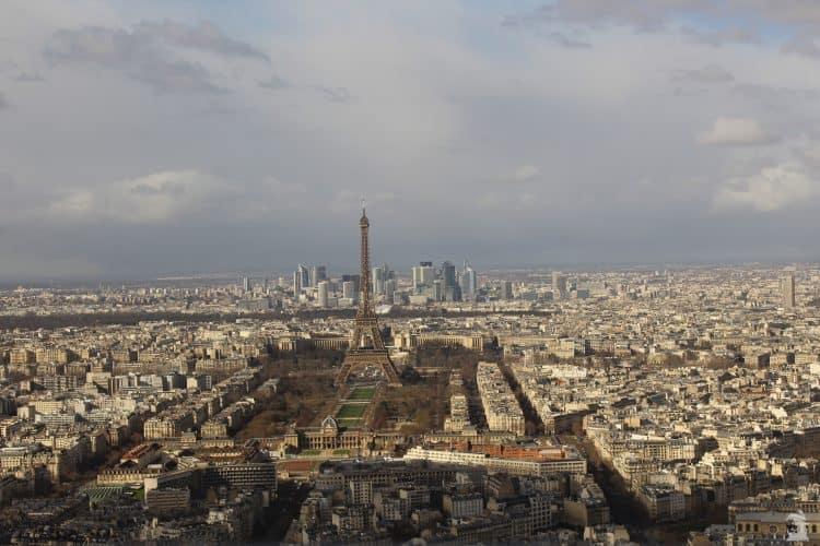 Vue la Tour Montparnasse