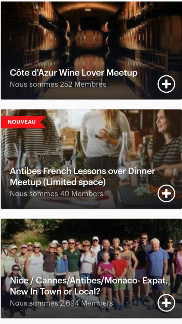 Meet up franglais