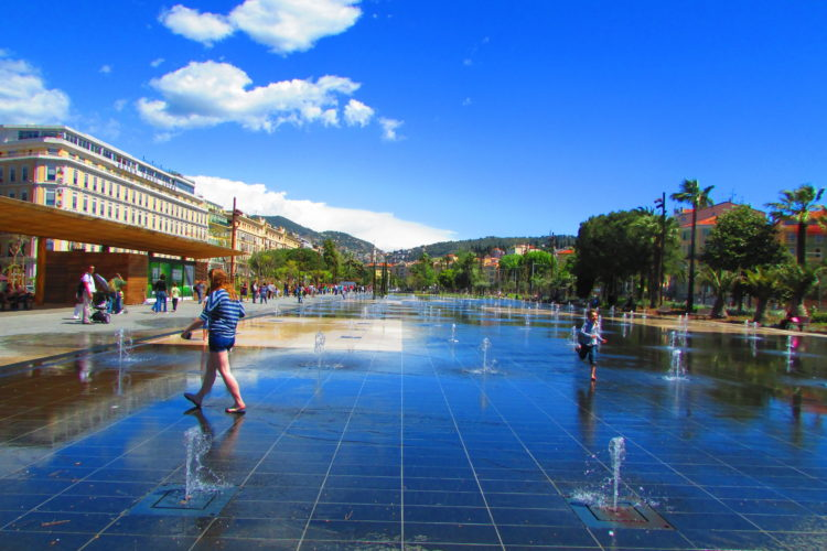 Coulée verte à Nice