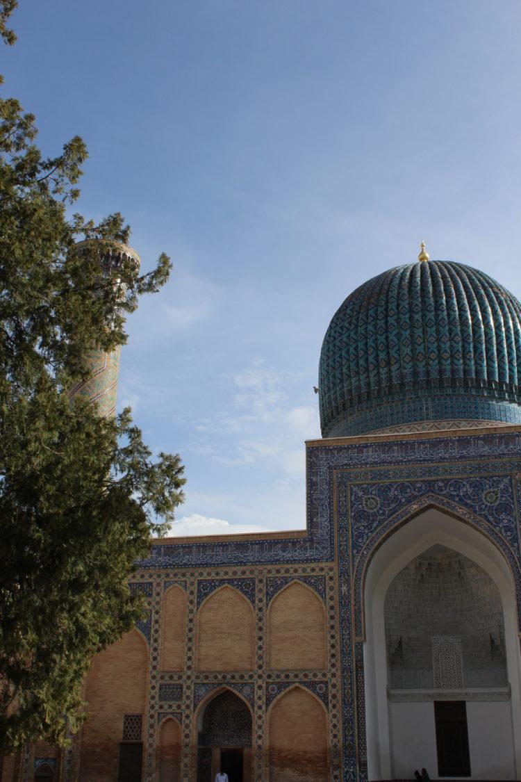Mausolé de Tamerlan Samarkand Uzbékistan