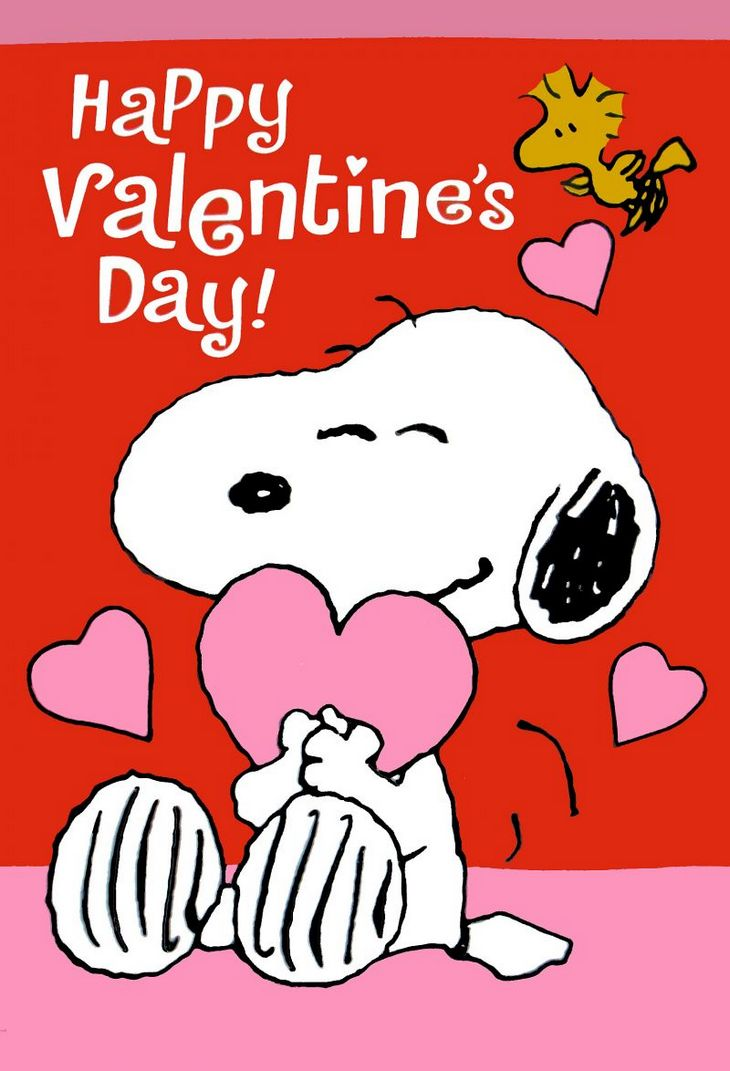 Happy Valentines Day From The Peanuts Gang Win A