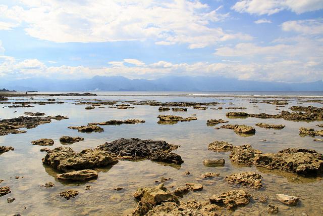 Diguisit Beach and Rock Formations Baler Aurora Philippines