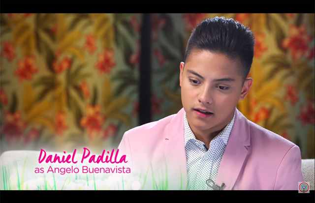 Daniel Padilla as Angelo Buenavista