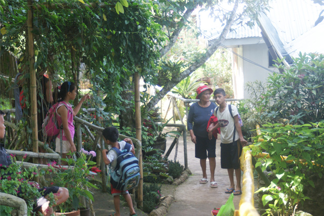 Tribu Bagobo Woodlands visitors 2