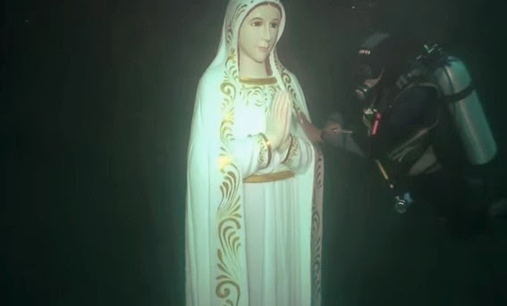 The Virgin Mary Underground Grotto