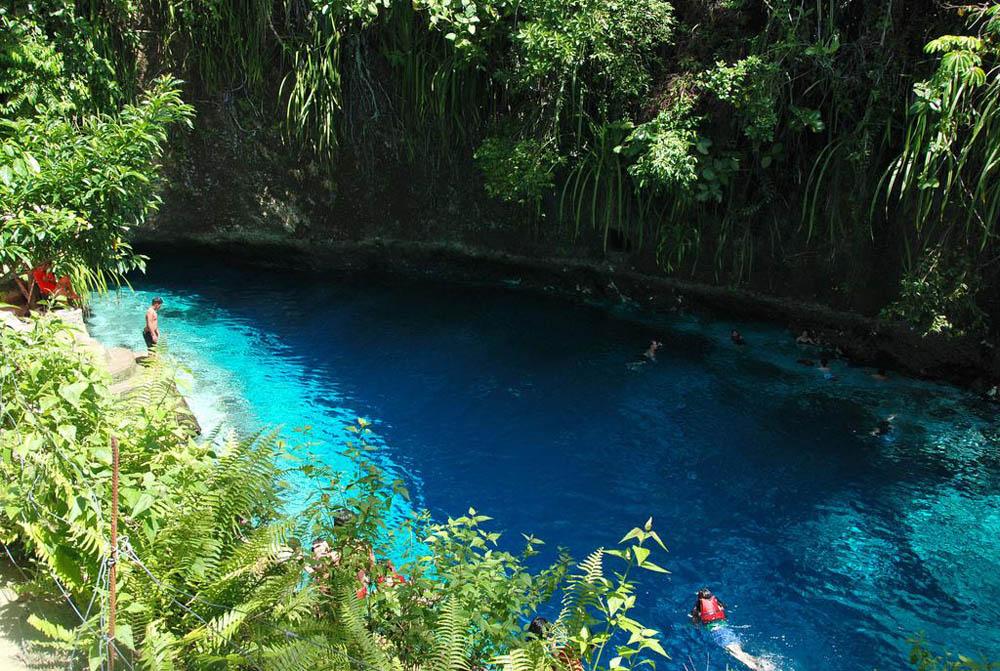 enchanted river surigao