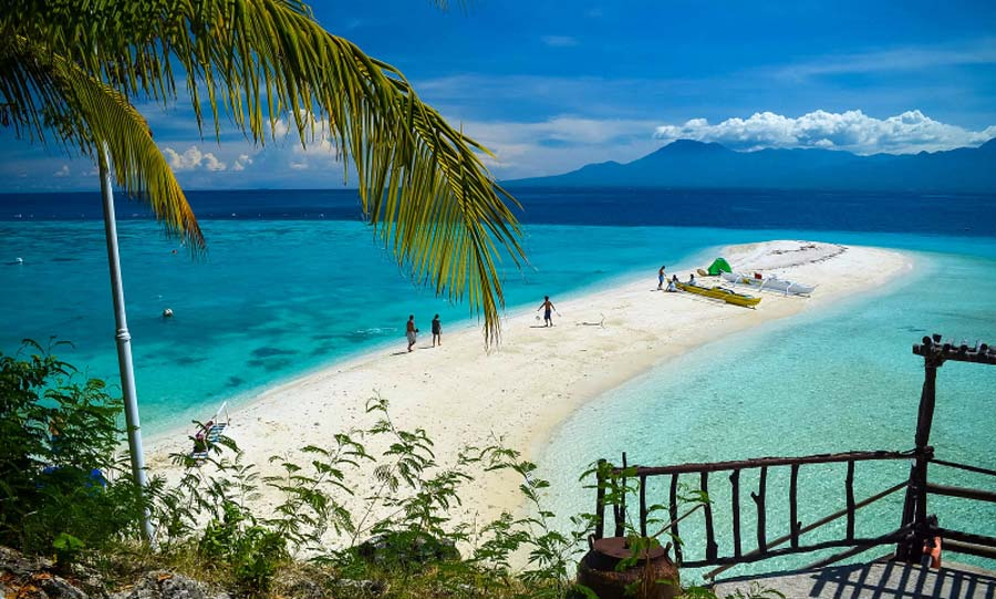 Sumilon Island Sandbar Cebu