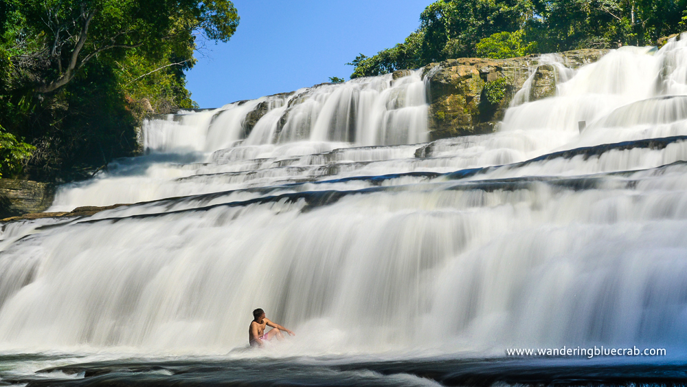 Tinuy-an Falls Third Tier Plunge