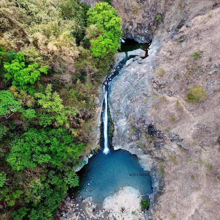Aloha Falls Aerial Shot