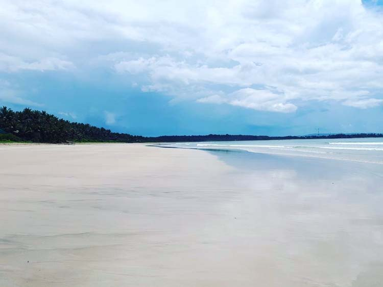 Riza Beach at Lola Sayong Eco-Surf Camp