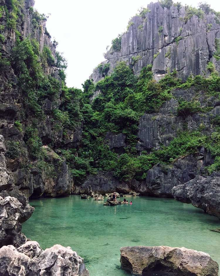 2. Tangke Lagoon