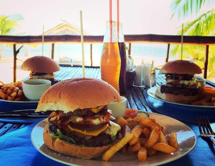 Beach Club Cagpo Resort Food