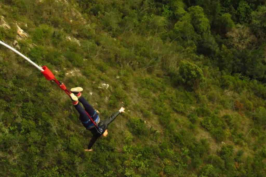 bungee jumping in africa