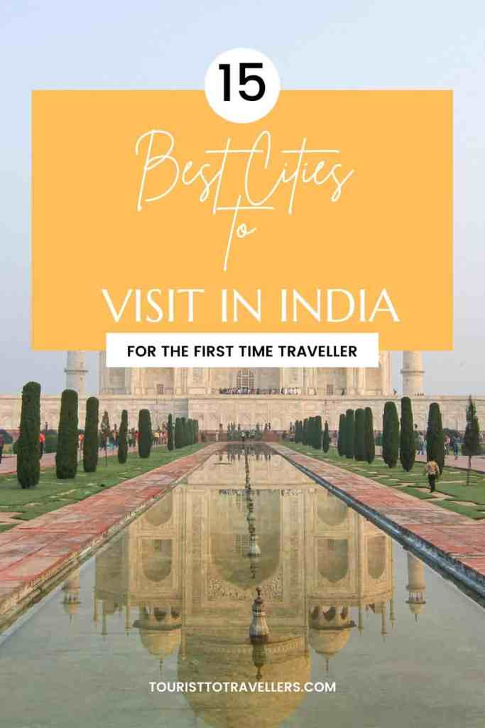 Top 15 cities to visit in India