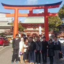 foto peserta paket wisata jepang winter 2015