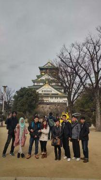 foto peserta tour ke jepang osaka 2015