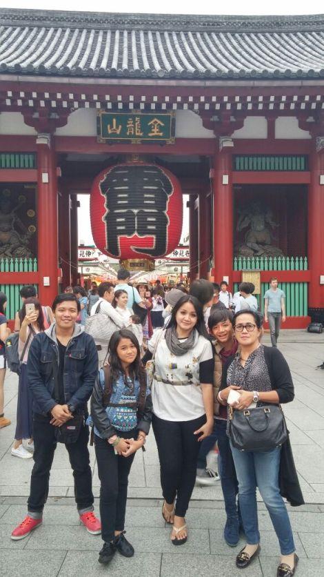 foto peserta tour tokyo asakusa juni 2015