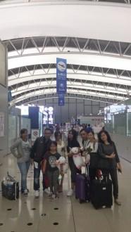 klien tour ke jepang pulang dari kansai