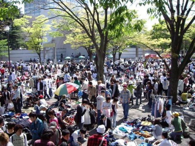 Yoyogi-Park-Flea-Market