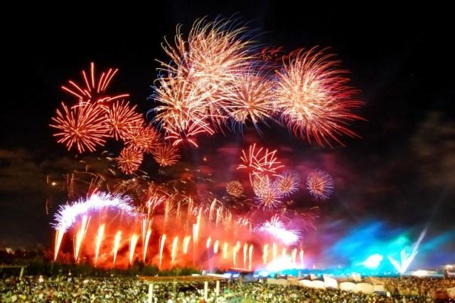 Kachimai-fireworks-festival