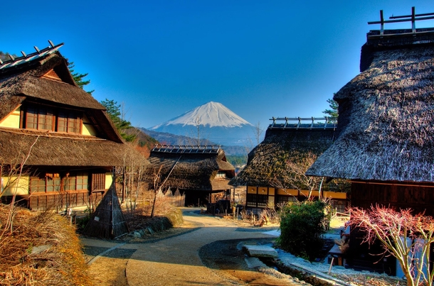 saiko-iyashi-no-sato-nenba-near-mt-fuji-japan by photorator.com