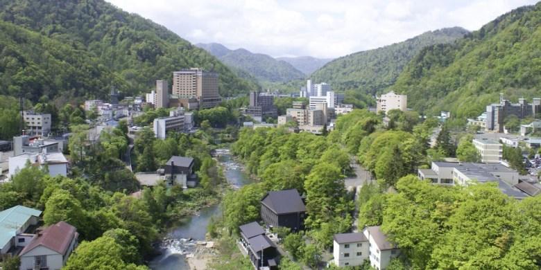 Jozankei Onsen di Hokkaido Jepang