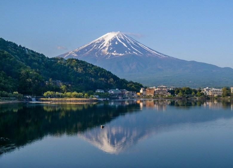 kawaguchiko lake di jepang