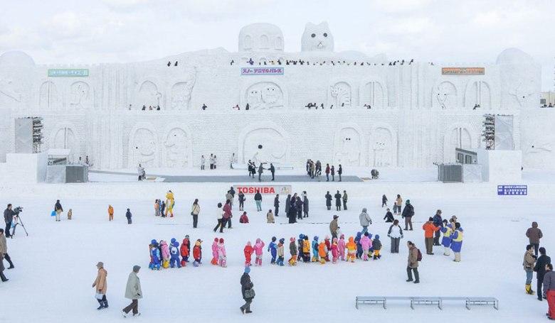 Asahikawa Winter Festival Hokkaido Jepang