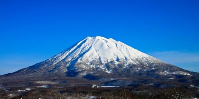 gunung yotei di hokkaido jepang