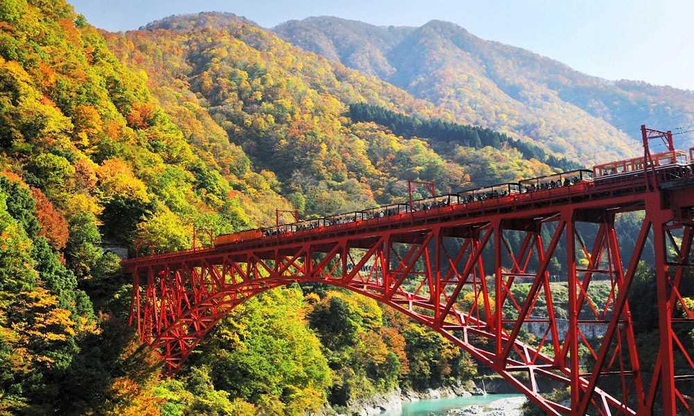 Kurobe Gorge Toyama Jepang