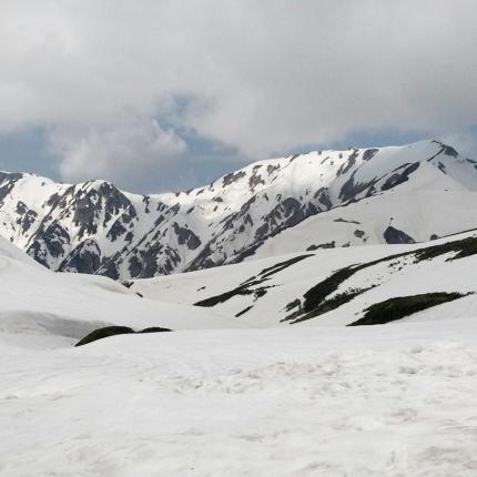 gunung di alpen route jepang