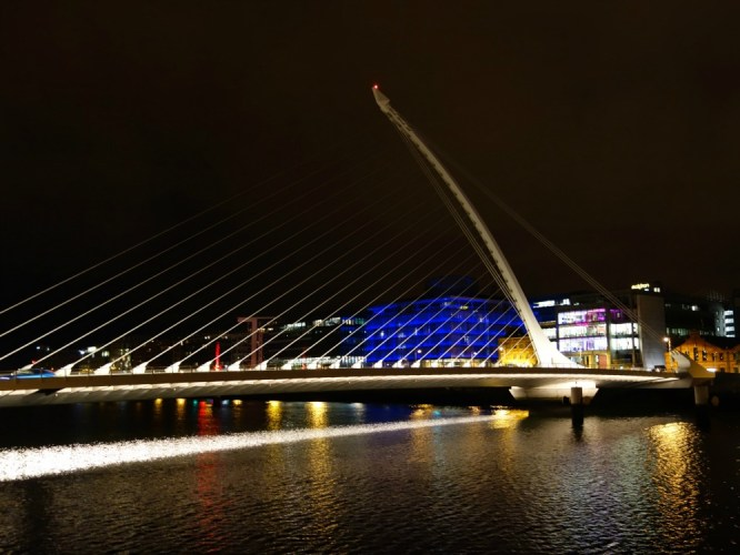 Dublin Docklands, Samuel Beckett Bridge