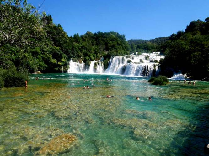 Skradiskin Most Krka National Park, Croatia | Croatia 10 best things to do