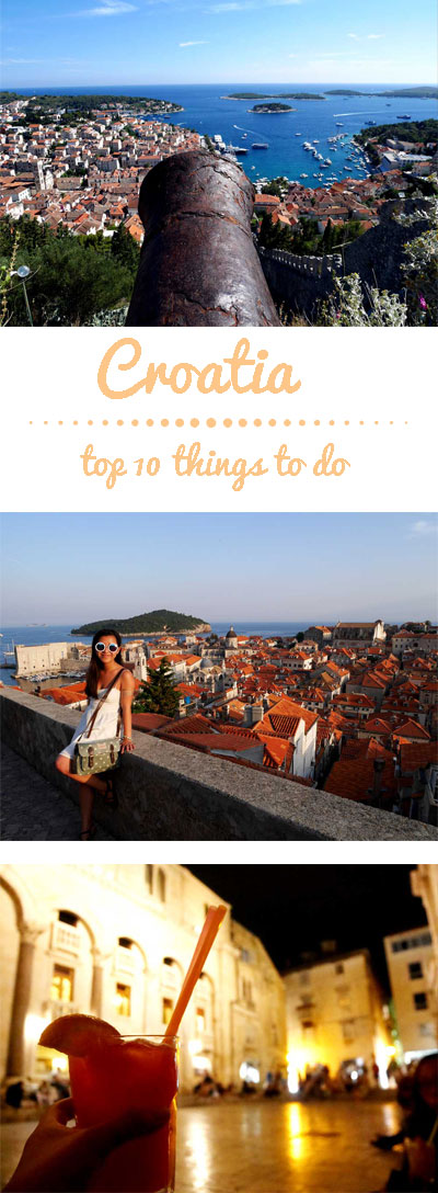 Croatia - top 10 things to do