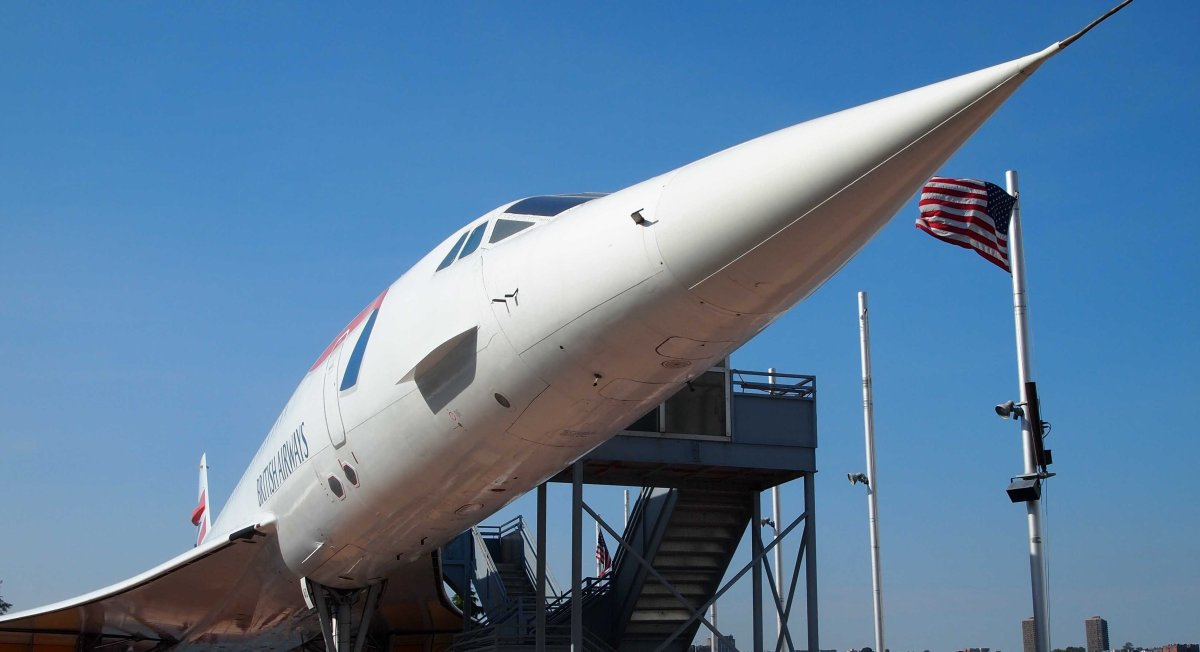 Concorde in NYC USA