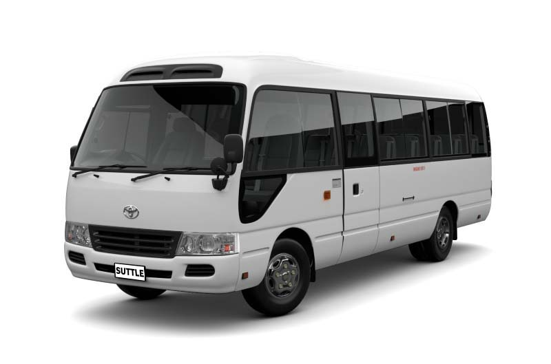Toyota Coaster Saloon for rent in Islamabad