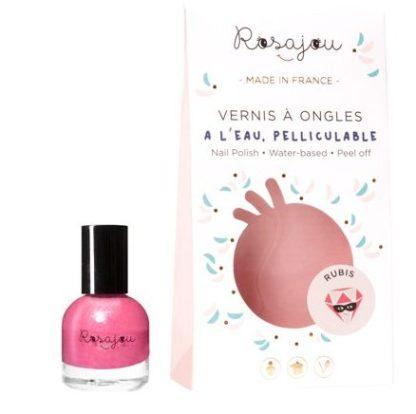 Vernis à ongles Rosajou - Rubis-Tournebidouille
