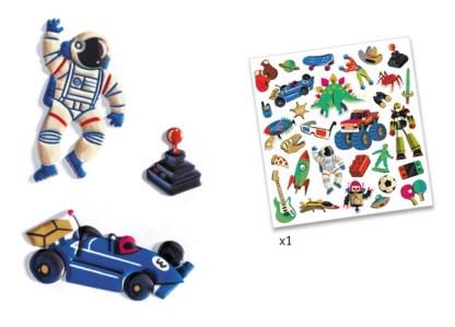 Stickers Retro Toys