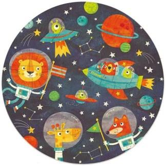 Round Puzzle - L'espace