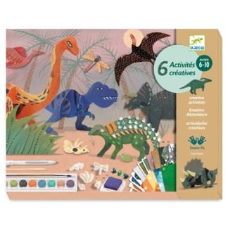 Coffrets multi-activités dinosaures