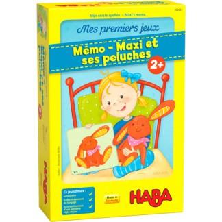 Mémo – Maxi et ses peluches