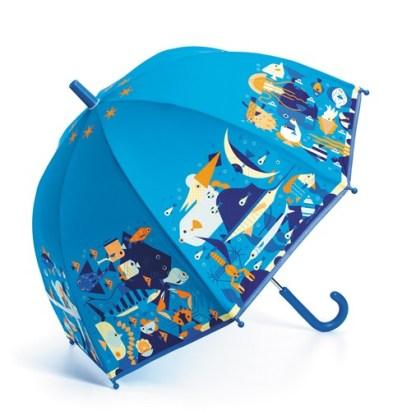 Parapluie - sous l'océan