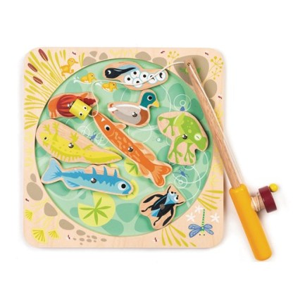 Pêche en étang