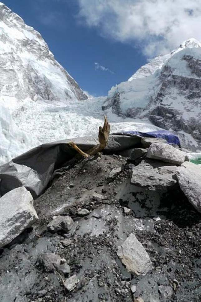 останки альпиниста