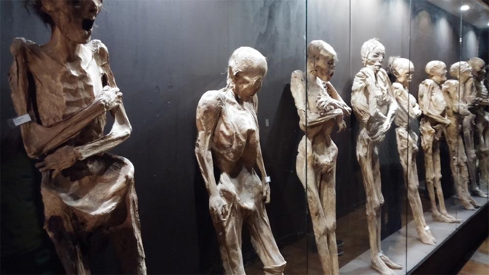 музей мумий в Мексике
