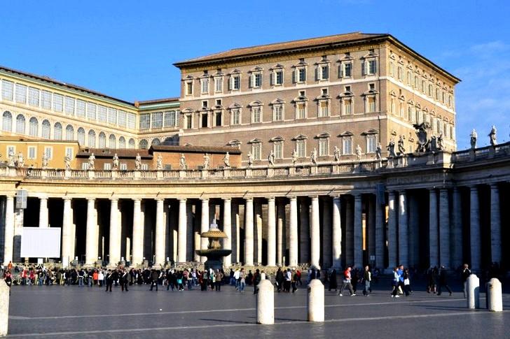 апостольский дворец в ватикане